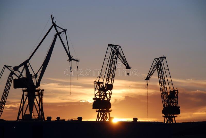 Pula λιμάνι στοκ εικόνα