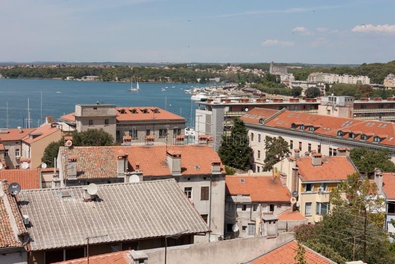 Pula в Хорватии стоковые фотографии rf