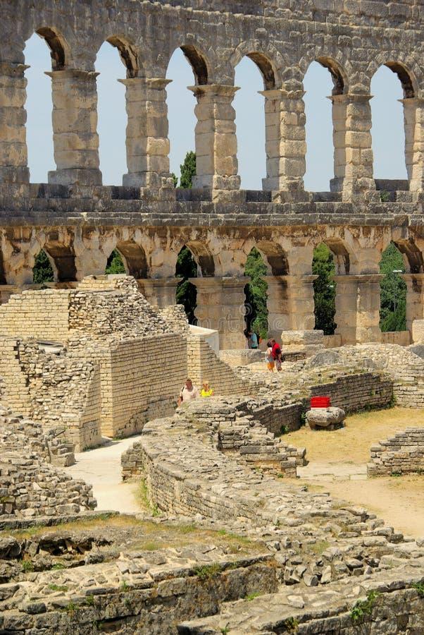 Download Pula stock image. Image of ruins, historical, pula, colosseum - 14853425