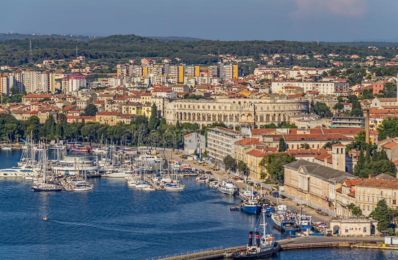 Pula royalty free stock image