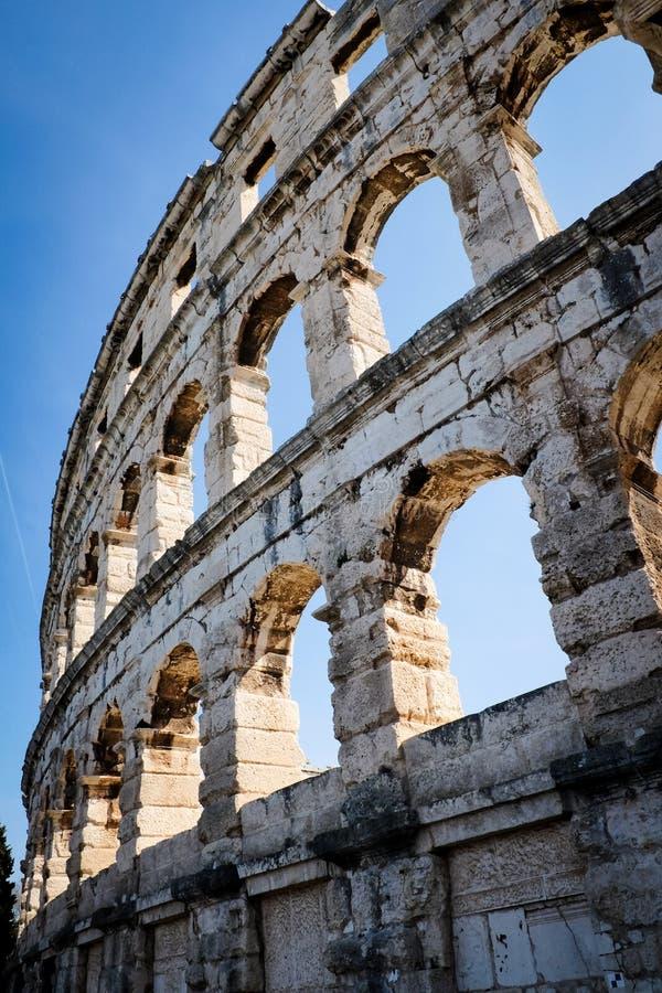Pula amfiteatr obraz royalty free