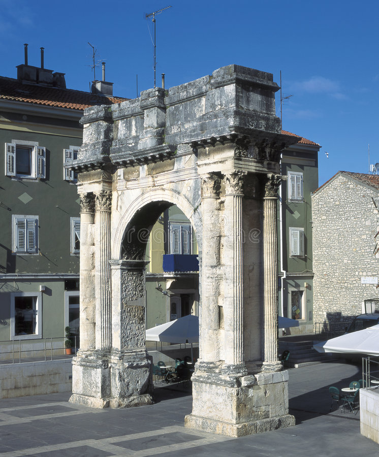 Pula, Croatia royalty free stock photos