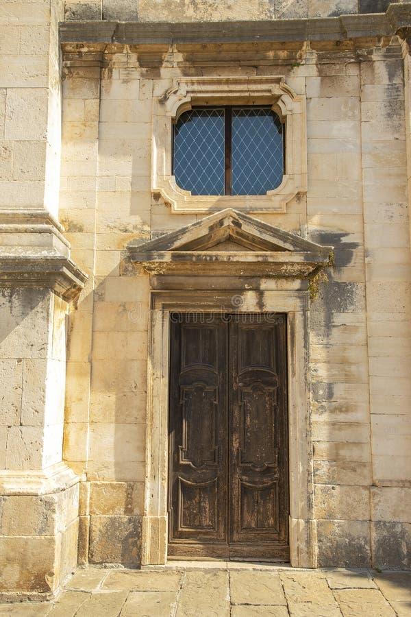 Pula miasto Pula z nim jest areną Istria, Chorwacja zdjęcia stock