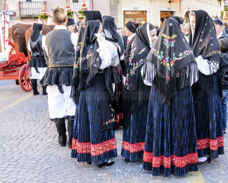 Pula Sant'Efisio photos libres de droits