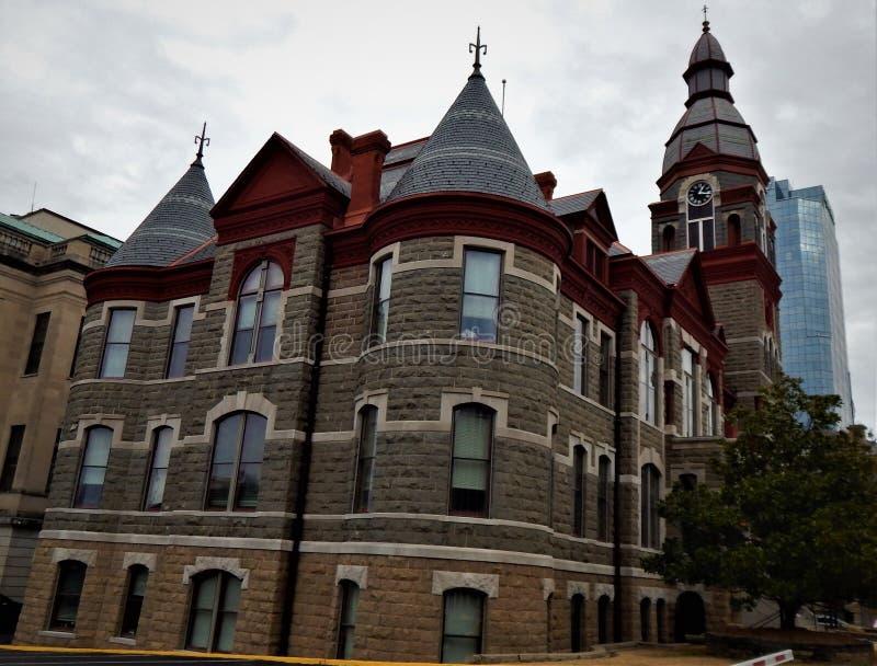 Pulaski County domstolsbyggnad 1887 arkivbilder