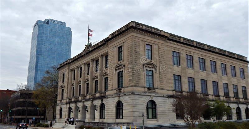 Pulaski County domstolsbyggnadbilaga arkivfoto
