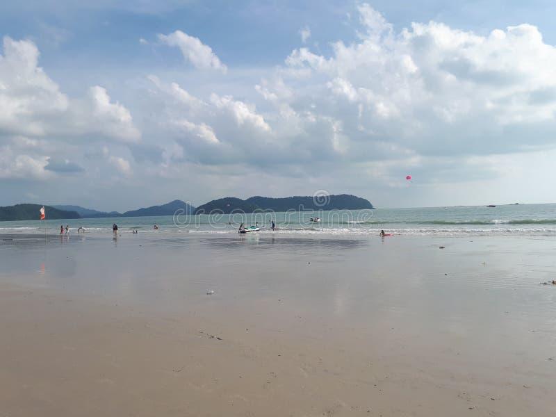 Pulau Cenang in Langkawi stock foto