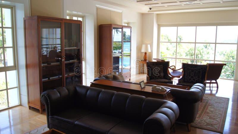 PULAU LANGKAWI, MALEISIË - 4 APRIL 2015: Binnen het DANNA-luxehotel op Langkawi-eiland royalty-vrije stock foto