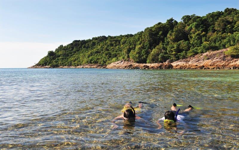 Pulau Perhentian Besar стоковые изображения rf