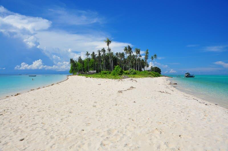 Pulau Sibuan, Sabah arkivfoto