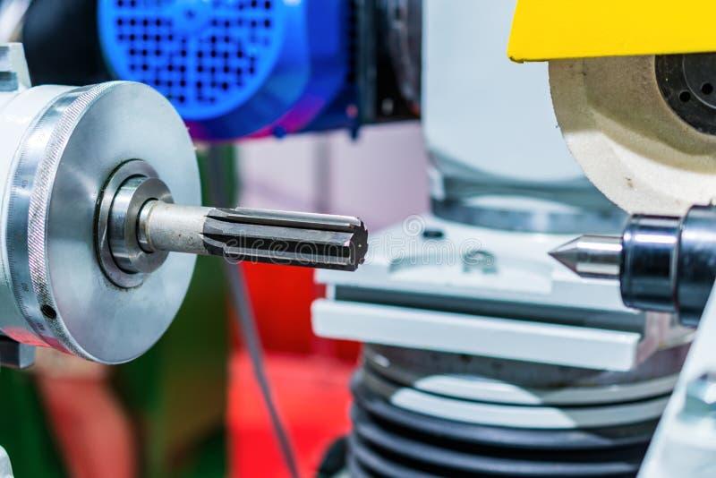 Pulido de la máquina herramienta CNC fotos de archivo libres de regalías