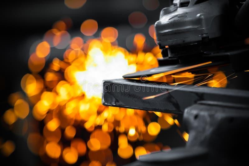 Pulido eléctrico de la rueda imágenes de archivo libres de regalías