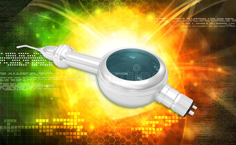 Pulidor dental Handpiece del aire foto de archivo libre de regalías