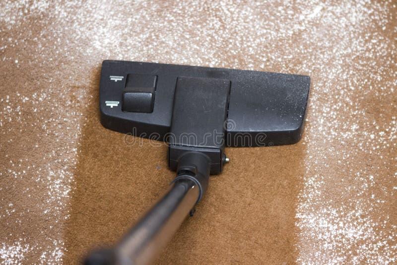Pulizia del tappeto immagine stock libera da diritti
