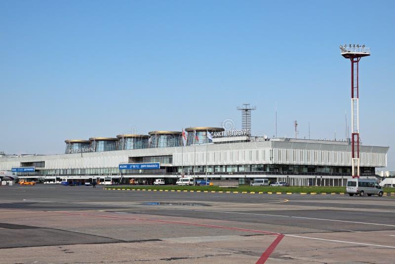 pulkovo авиапорта стоковая фотография