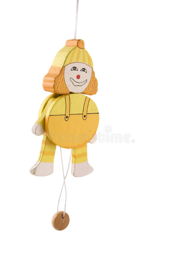 Download Pull puppet as marionette stock photo. Image of toys, feet - 3784344