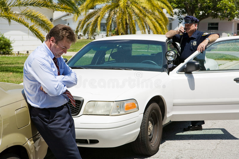 Download Pulled Over stock image. Image of occupation, blue, crime - 5638919