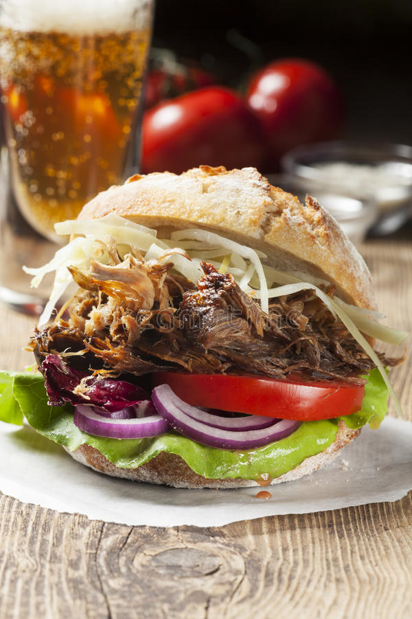 Pulled pork royalty free stock photos