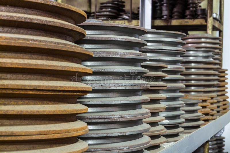 Download Pulleys stock photo. Image of element, industry, engineering - 32856950