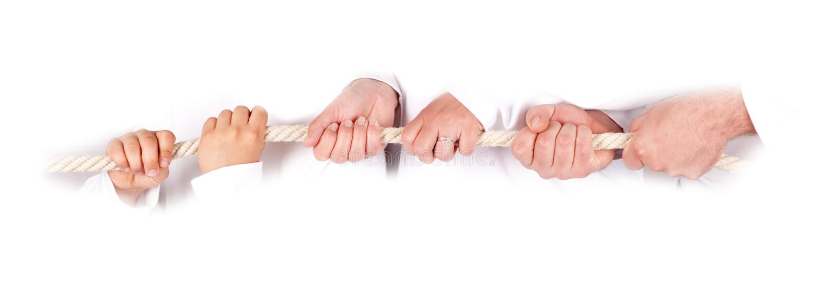 Download Pulling together stock photo. Image of hold, contest - 14149532