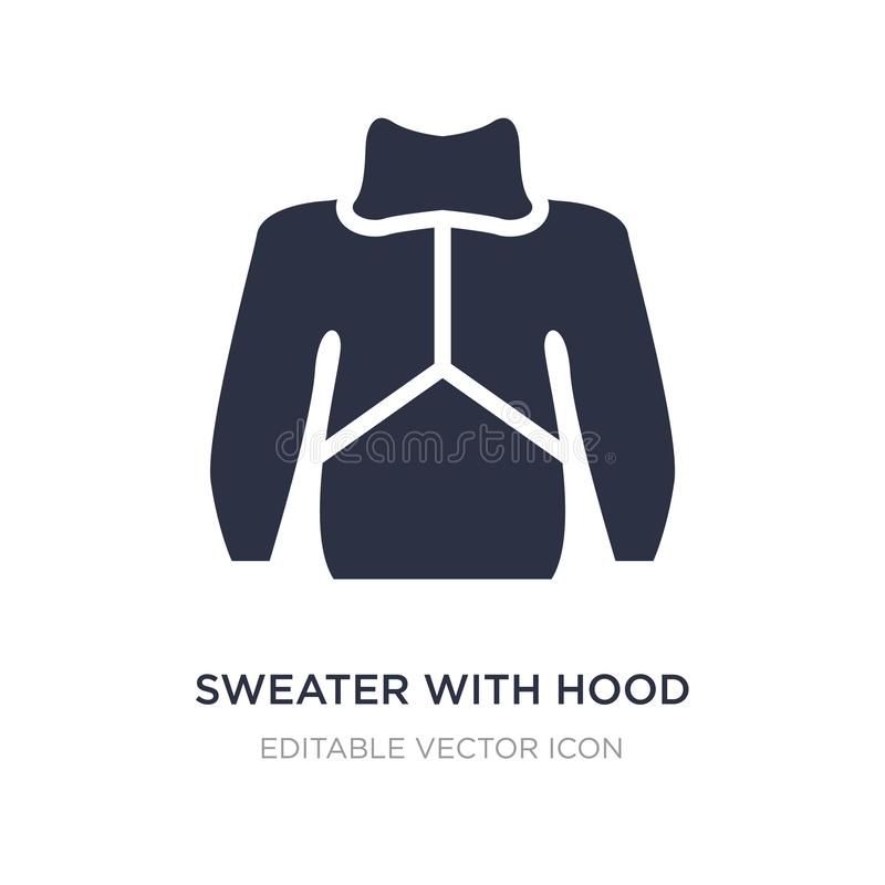 pulower z kapiszon ikoną na białym tle Prosta element ilustracja od mody pojęcia ilustracji