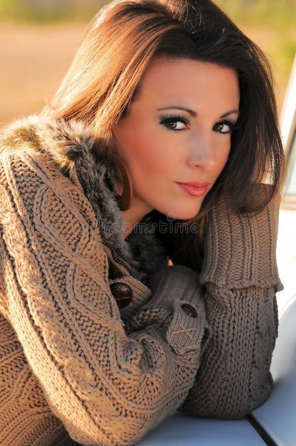 puloweru kobiety potomstwa fotografia stock