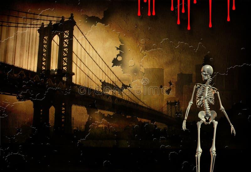 Pulp Fiction ha basato l'arte illustrazione di stock