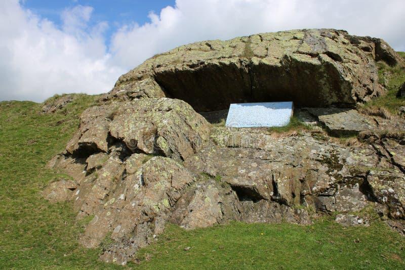 Pulpit αλεπούδων ` s του George, Firbank έπεσε, Cumbria στοκ φωτογραφίες με δικαίωμα ελεύθερης χρήσης