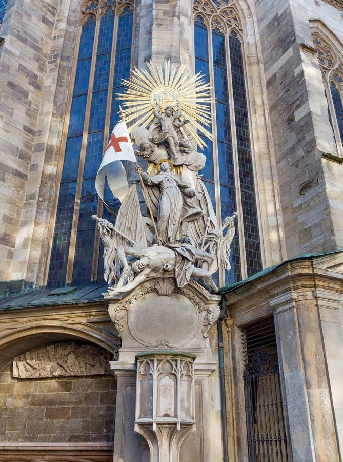 Pulpit του ST John Capistrano, Βιέννη στοκ εικόνες