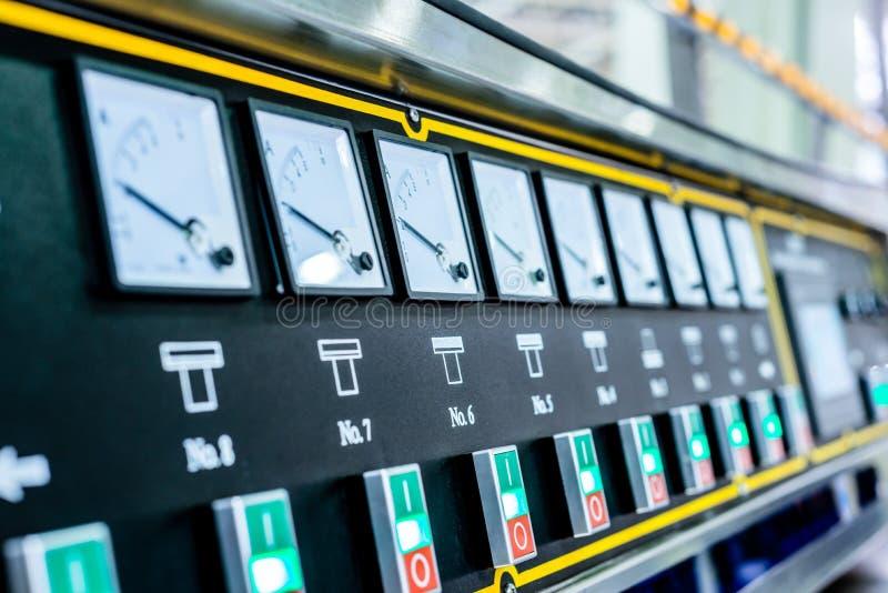 Pulpit operatora maszynowy narzędzie zdjęcie stock