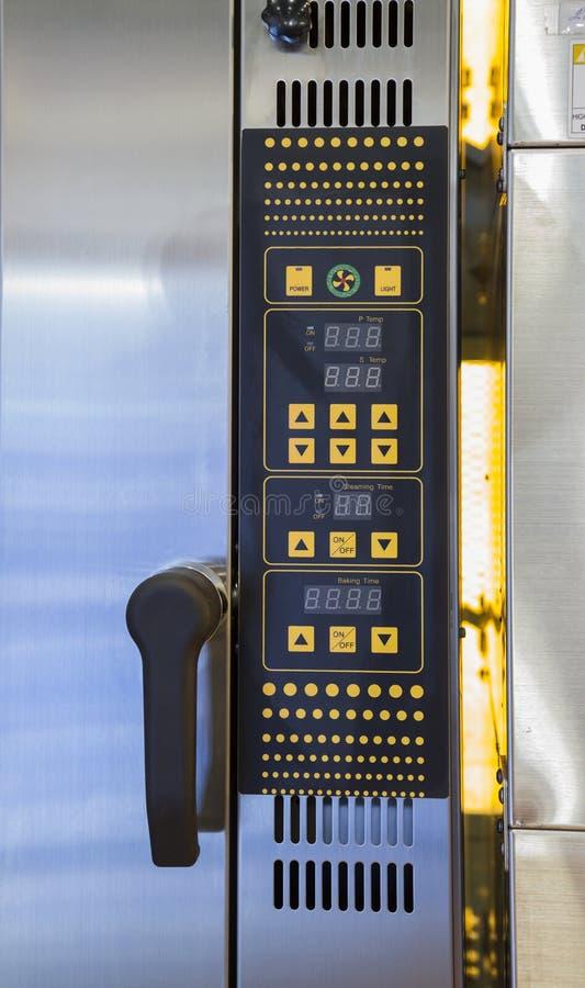 pulpit operatora wypiekowy piekarnik zdjęcie stock