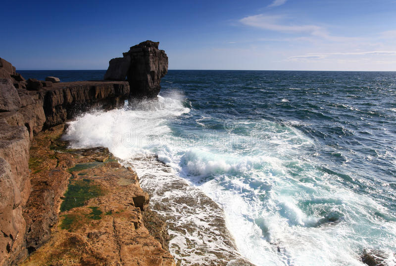 Download Pulpit Rock stock photo. Image of puplit, portland, scene - 25757632