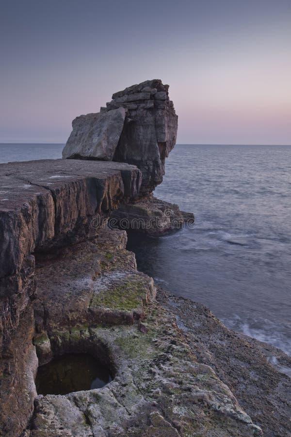 Pulpit Rock stock image