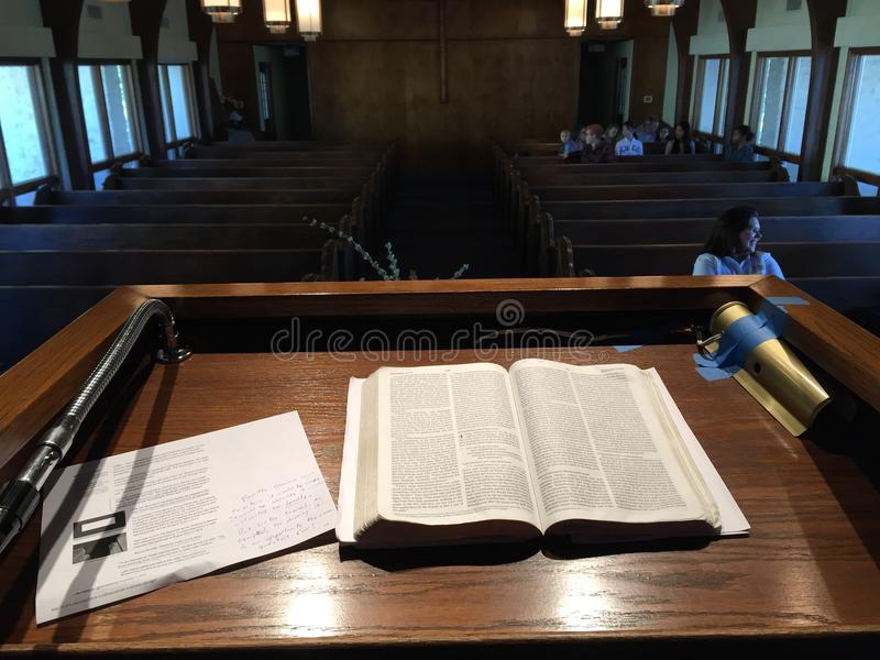 Pulpit View stock photography