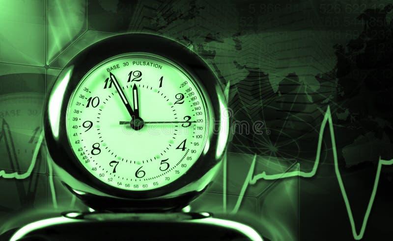 puls часов стоковые изображения