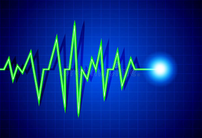 Download Pulse stock vector. Image of beat, examining, cardiograph - 26062052