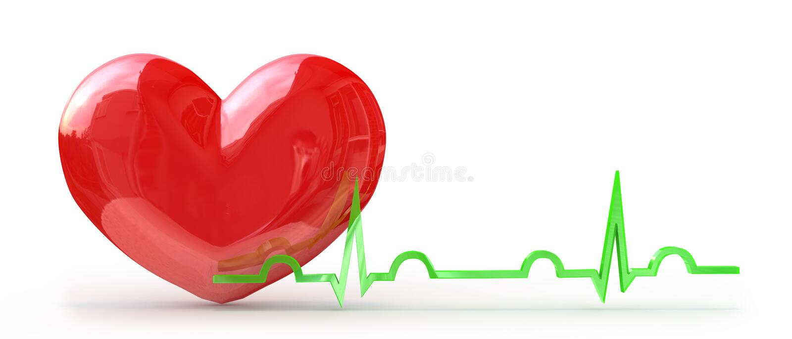Download Pulse from the heart stock illustration. Image of holidays - 29931576