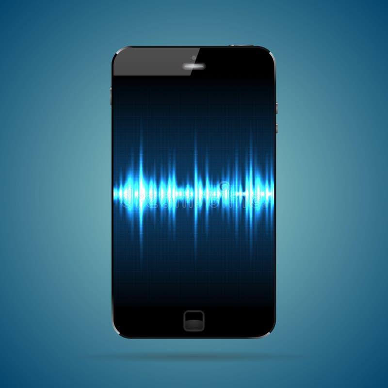 Download Pulse Smartphone stock vector. Illustration of information - 37596180