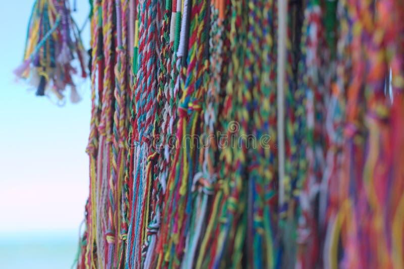 Pulseras del algodón imagen de archivo