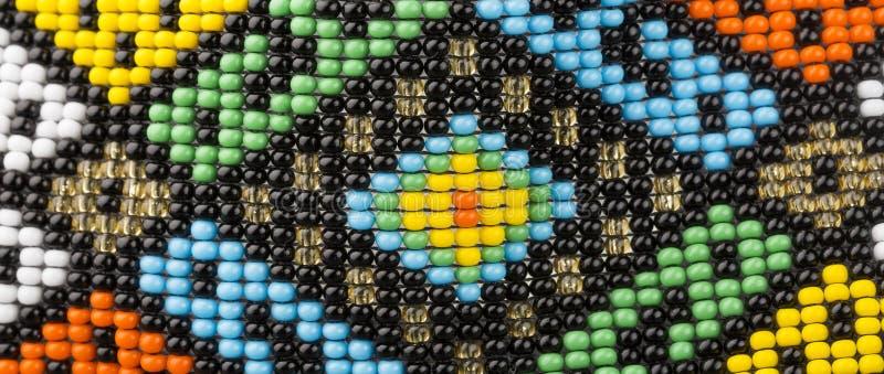 Pulseras hechas a mano colombianas - joyería Detalle colorido fotografía de archivo libre de regalías