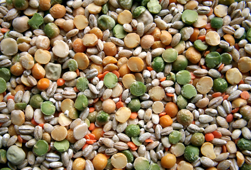 Pulses. stock image