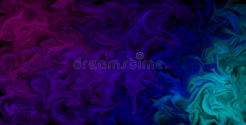 Pulsing Smeared Colors Wallpaper - Abstract artistic background, colors in motion. Abstract background design in moving color style, pulsing colors in pink royalty free illustration