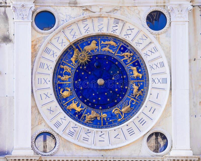 Pulso de disparo astronômico em Veneza, Italy fotos de stock royalty free
