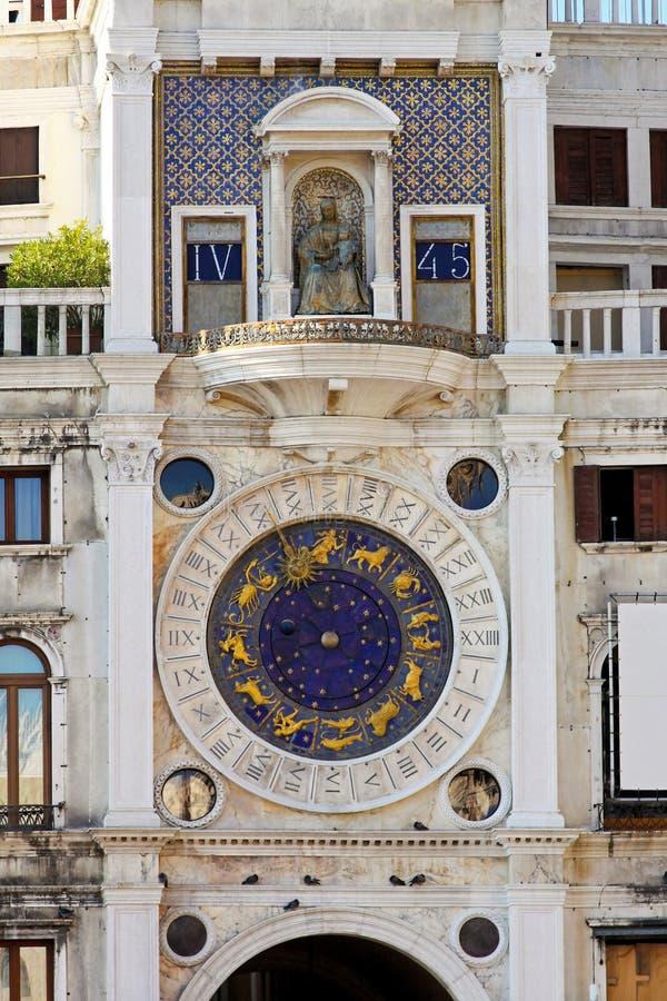 Pulso de disparo da astrologia de Veneza fotos de stock