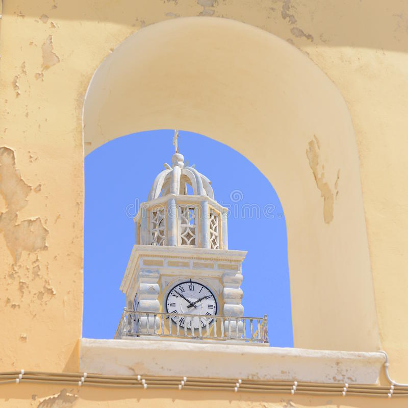 Pulso de disparo da torre fotografia de stock royalty free