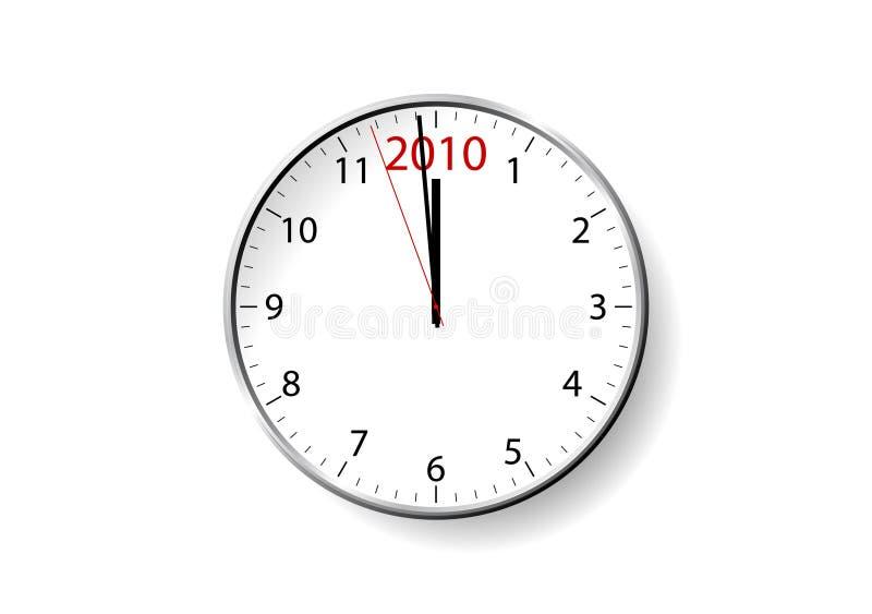 Pulso de disparo do ano novo ilustração do vetor