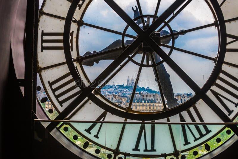 Pulso de disparo no museu de Orsay, Paris imagem de stock royalty free