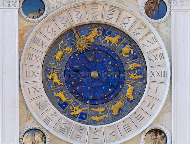 Pulso de disparo San Marco da astrologia imagens de stock
