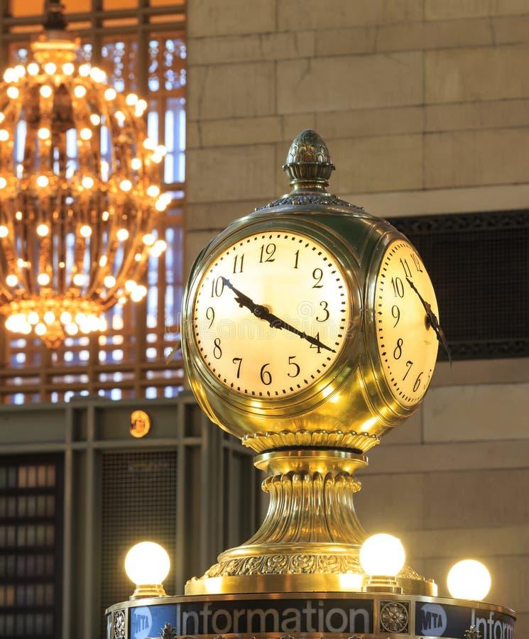 Pulso de disparo terminal de Grand Central, New York imagens de stock royalty free