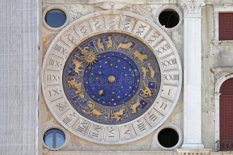 Pulso de disparo Veneza do zodíaco foto de stock